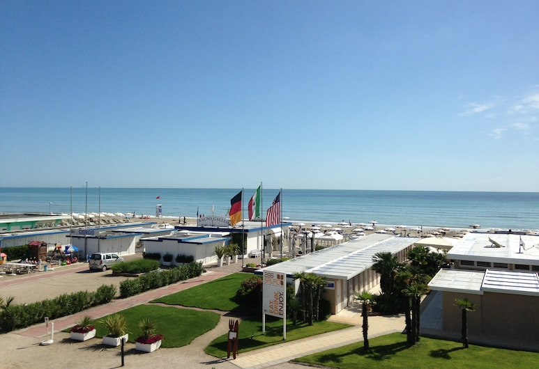 Hotel Centrale, Cervia, Strand