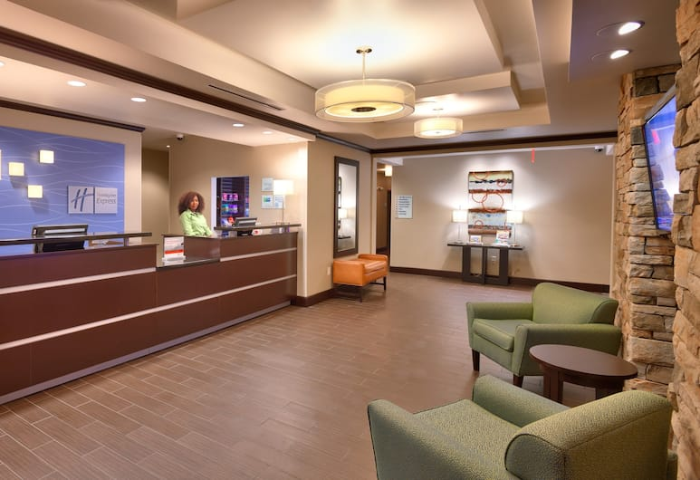 Holiday Inn Express and Suites Overland Park, Overland Park, Aspecto interior del hotel