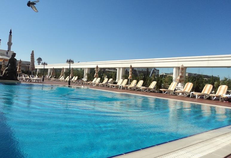 Buyukhanli Park Hotel Deluxe & Residence - Special Class, Ankara, Çatı katında teras