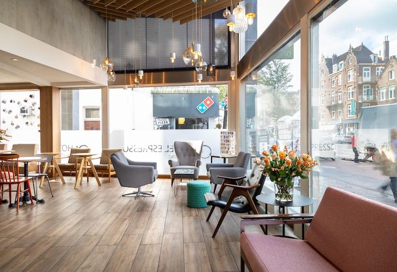 Hotel Espresso City Centre, Amsterdam, Sittområde i lobbyn