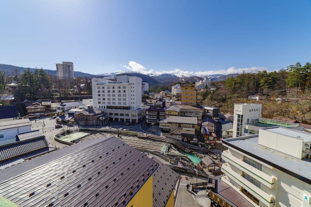 Tradicionāls numurs (Japanese Style,10 TatamiMats,Yubatake) - Skats uz pilsētu