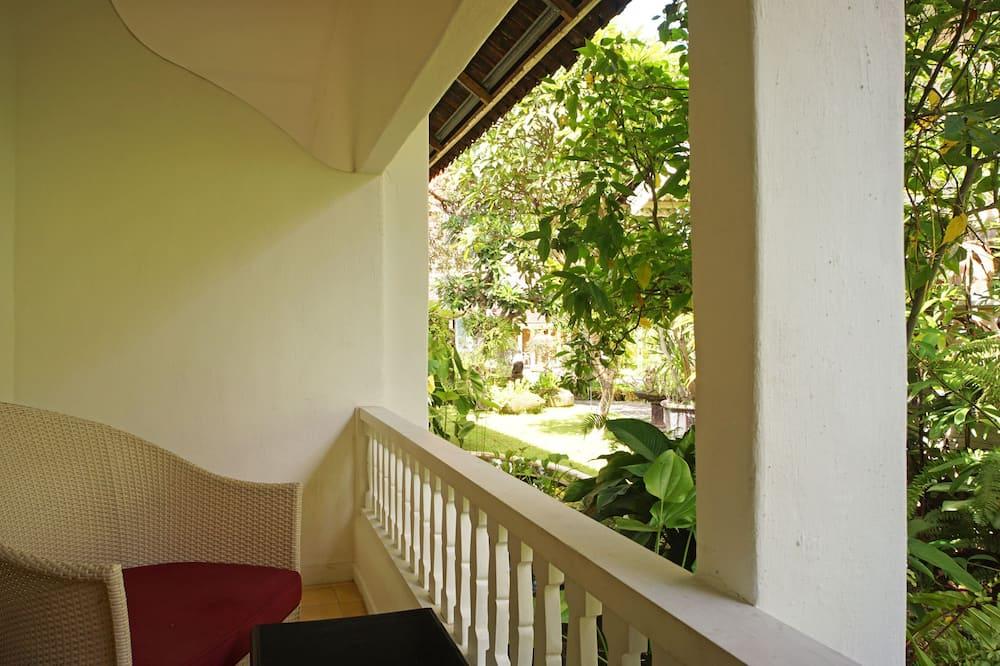Superior kamer, niet-roken, uitzicht op tuin - Uitzicht vanaf balkon