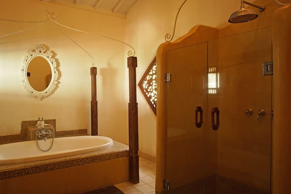 Villa, 1 slaapkamer, privézwembad - Badkamer