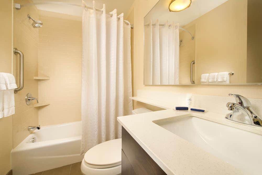Studio Suite, 1 Queen Bed, Accessible (Comm) - Bathroom