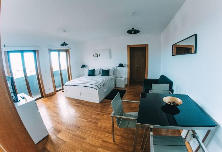 ARTS IN Apartments Ponte Nova, Funchal, Studiolejlighed - balkon - havudsigt, Værelse