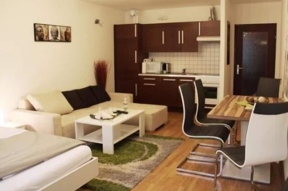Classic Studio, Kitchen - Living Area