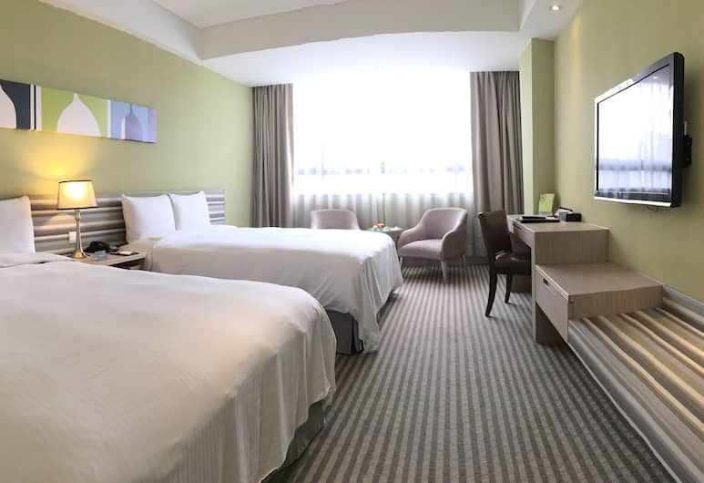 Park City Hotel Central Taichung, Taichung, Family Room, 2 Double Beds, Guest Room View