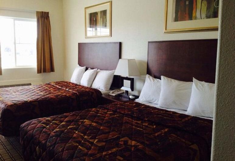 City Center Inn, Ridgecrest, Quarto, 2 camas queen-size, Não-fumadores, Quarto