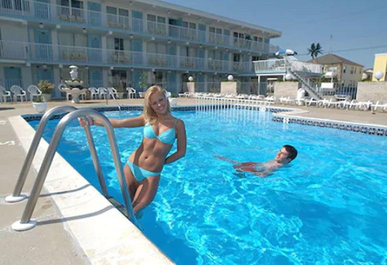 The Caprice Motel, Wildwood, Vanjski bazen