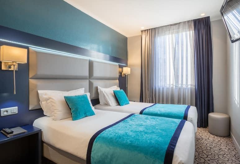 亞爾伯特王子蒙馬特酒店, 巴黎, 雙床房, 客房