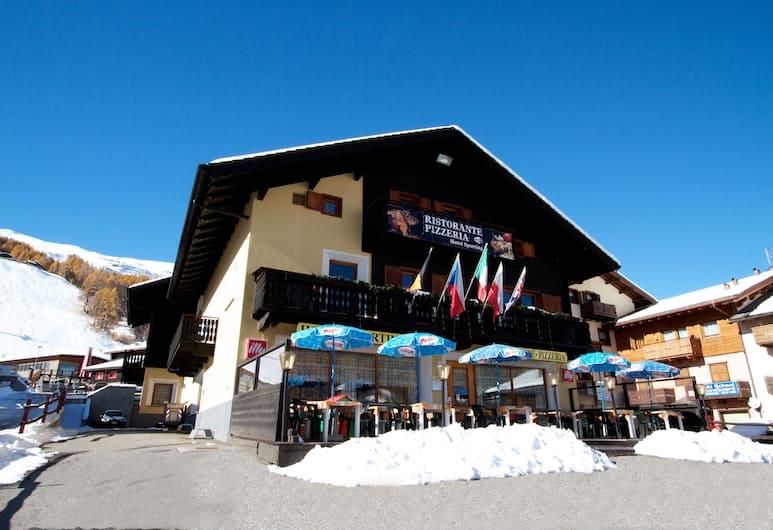 Dependance Sporting, Livigno, Facciata hotel