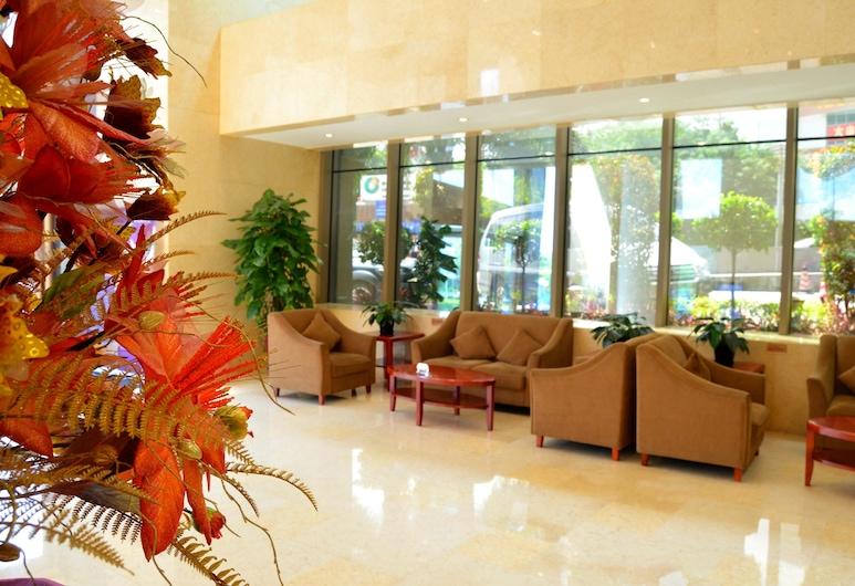 Guangzhou River Rhythm Hotel, Guangzhou, Prostor za sjedenje u predvorju