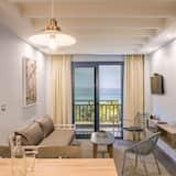 Suite, 2 spavaće sobe, pogled na more - Dnevni boravak