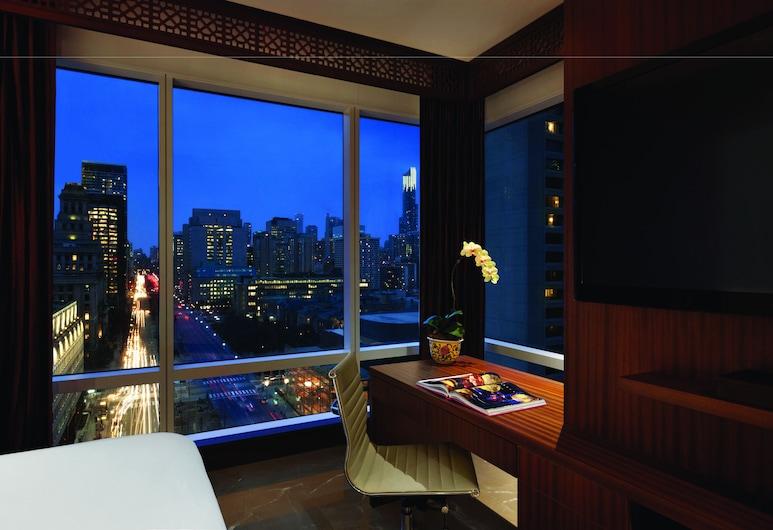 多倫多香格里拉飯店, 多倫多, 極品客房, 1 張特大雙人床, 客房