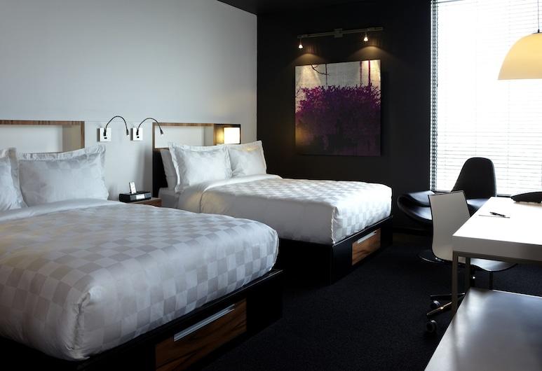 Alt Hotel Toronto Airport, Mississauga, Standard Room, 2 Queen Beds, Guest Room