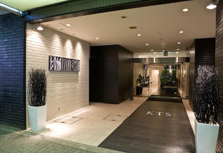 ハミルトン ホテル ブラック, 名古屋市, ホテル エントランス