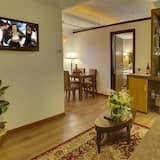 Executive-Doppel- oder -Zweibettzimmer, 1 Doppelbett - Wohnzimmer