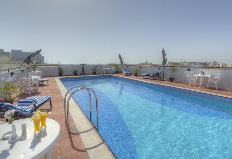 Fortune Pearl Hotel, Deira, Dubai, Outdoor Pool