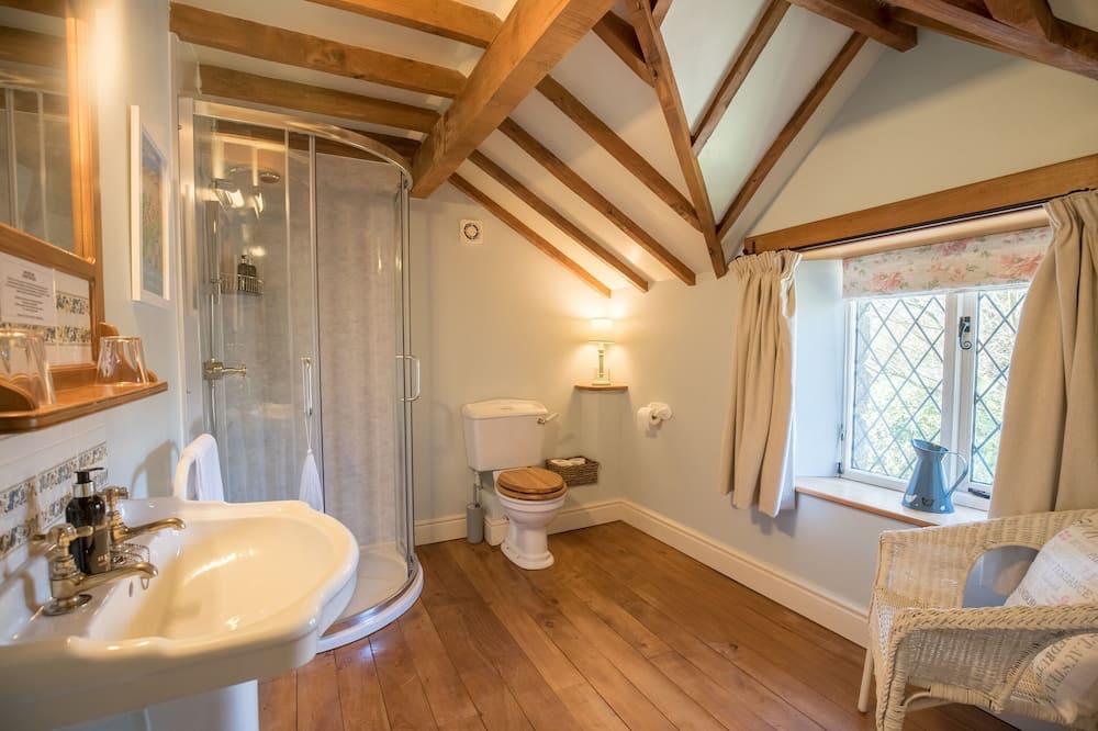 Luxus szoba kétszemélyes vagy két külön ággyal, fürdőszobával (The Dewey) - Fürdőszoba