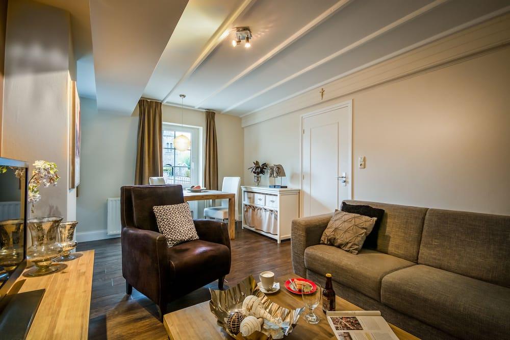 Deluxe Apartment, 1 Bedroom, Kitchen - Living Room