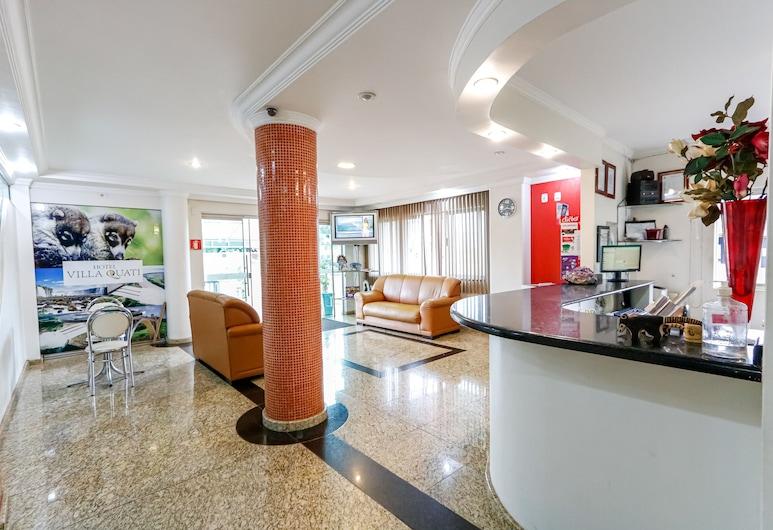 Hotel Villa Quati, Foz do Iguacu, Reception