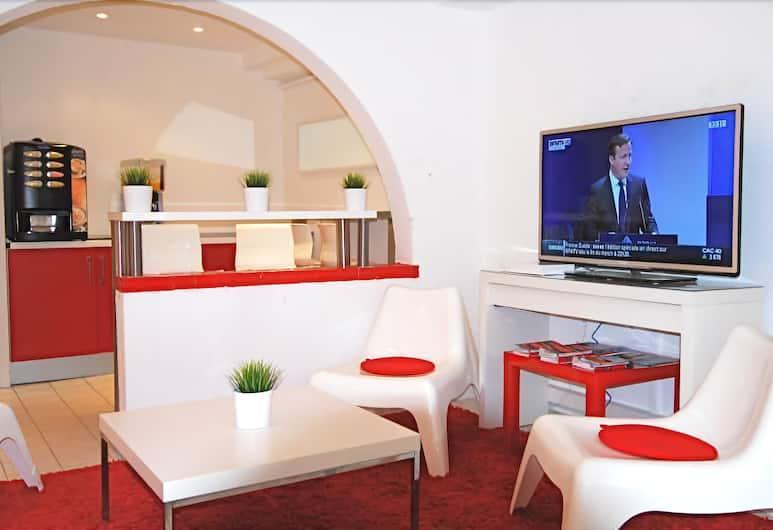 Nice Art Hotel - Hostel, Nica, Prostor za sjedenje u predvorju