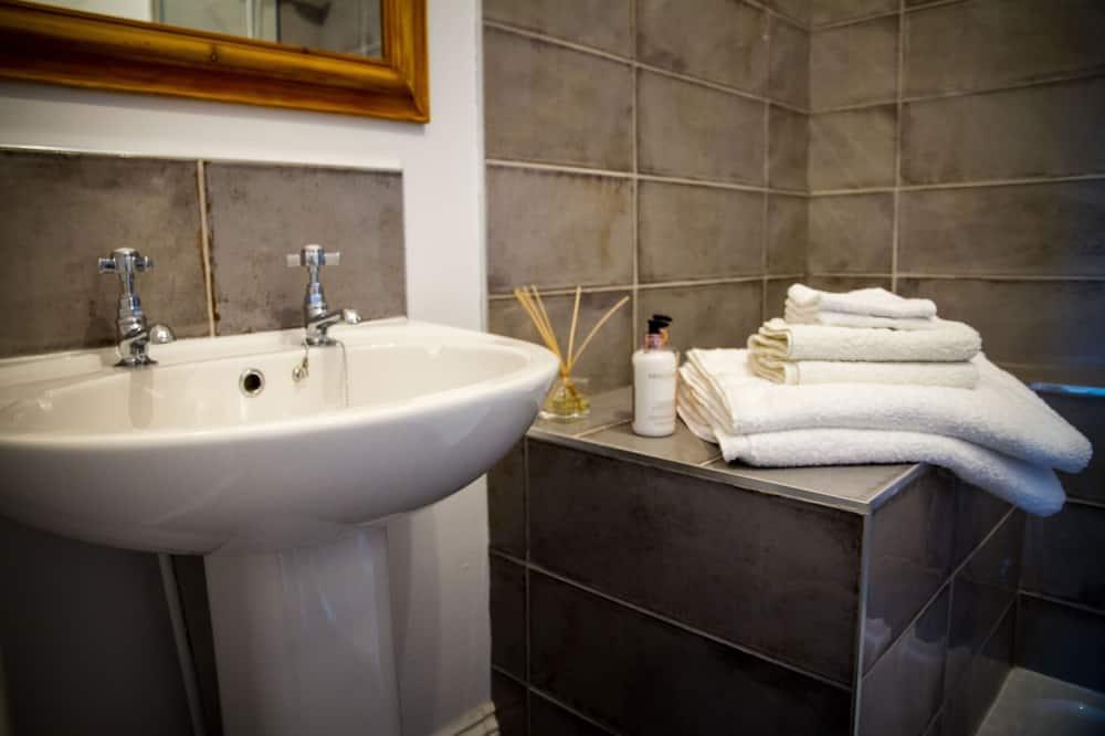 Standartinio tipo dvivietis kambarys, iš miegamojo pasiekiamas vonios kambarys (Ground Floor) - Vonios kambarys