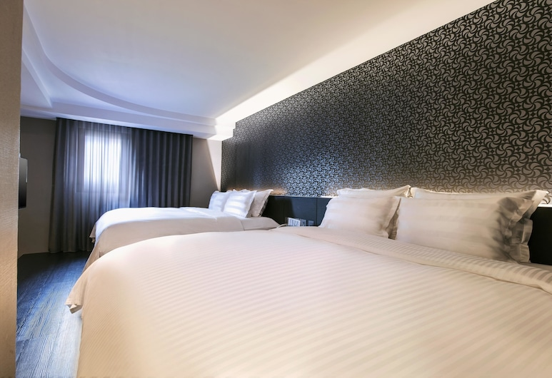 Saual Keh Hotel, Taipei, Family Quadruple Room (stairs from 6F-7F), Guest Room