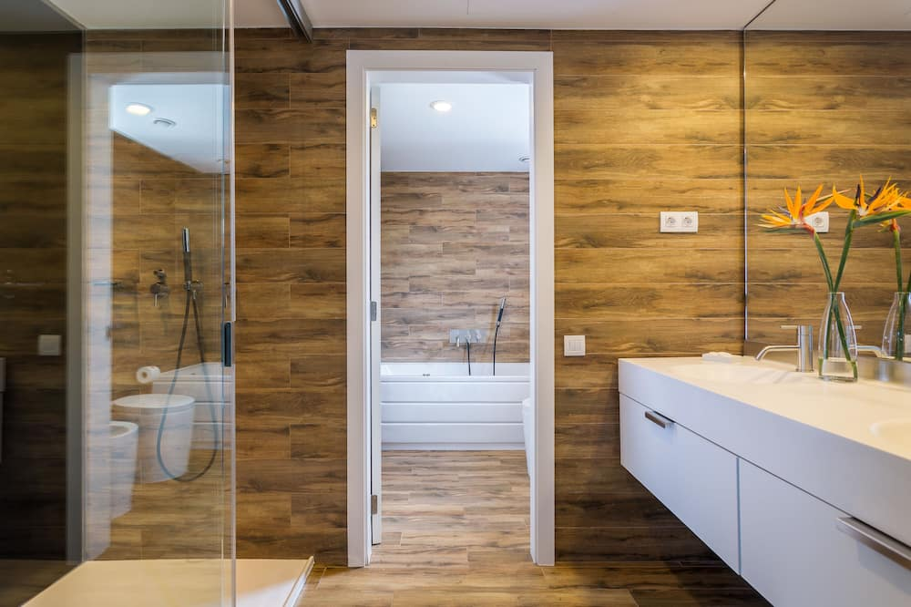 Suite (Atico Suite with Jacuzzi) - Badezimmer