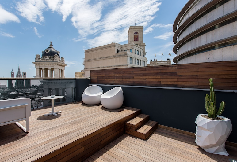 Room Mate Pau, Barcelona, Suíte (Atico Suite with Jacuzzi), Quarto