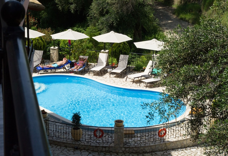Villa Dorita, Parga, Luxusný štúdiový apartmán, 1 spálňa, Výhľad z izby