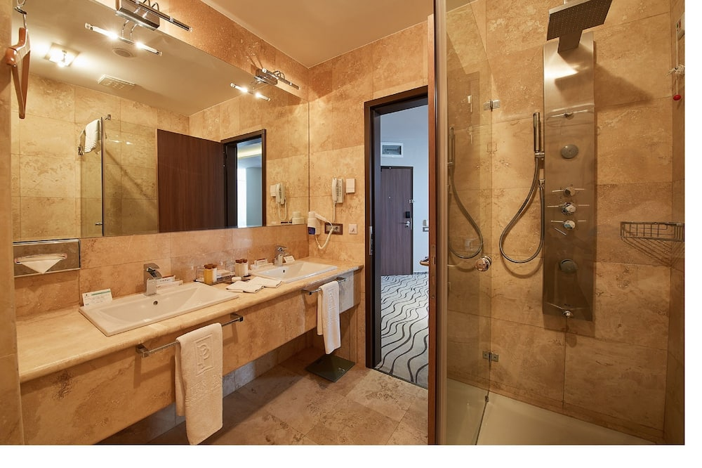 Superior Twin Room with Free SPA Access - 浴室