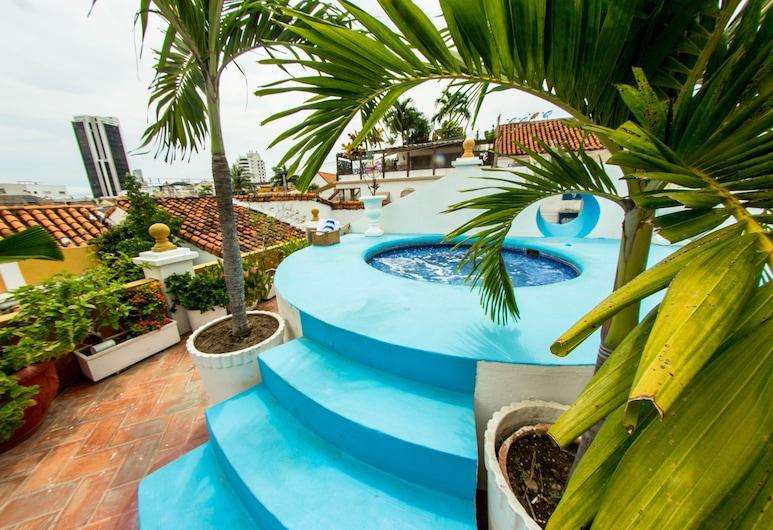 Hotel Casa Gloria, Cartagena, Sundeck