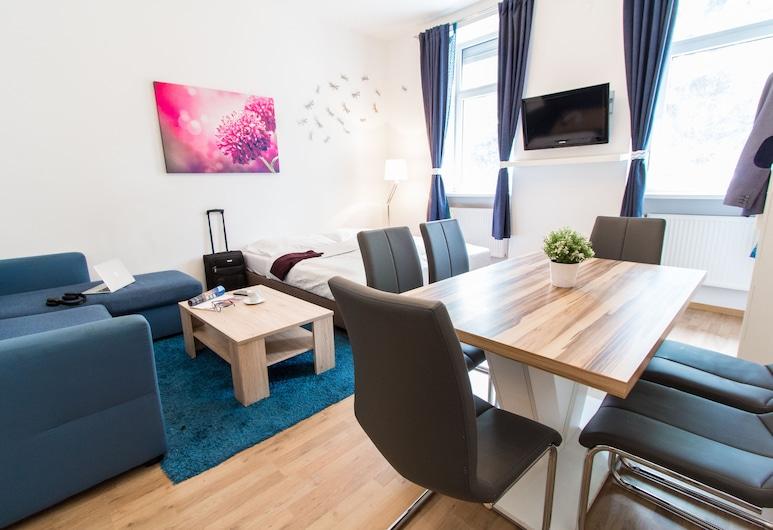 CheckVienna – Enenkelstrasse, Vienna, Appartamento Comfort, 2 camere da letto, cucina, Camera