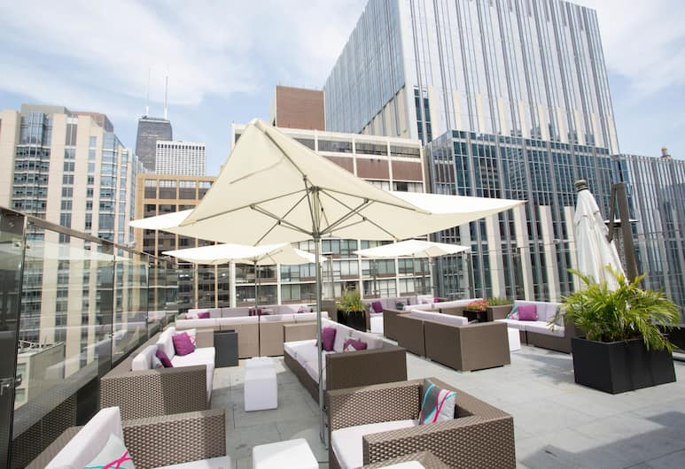 Ivy Boutique Hotel, Chicago, Terasz/udvar