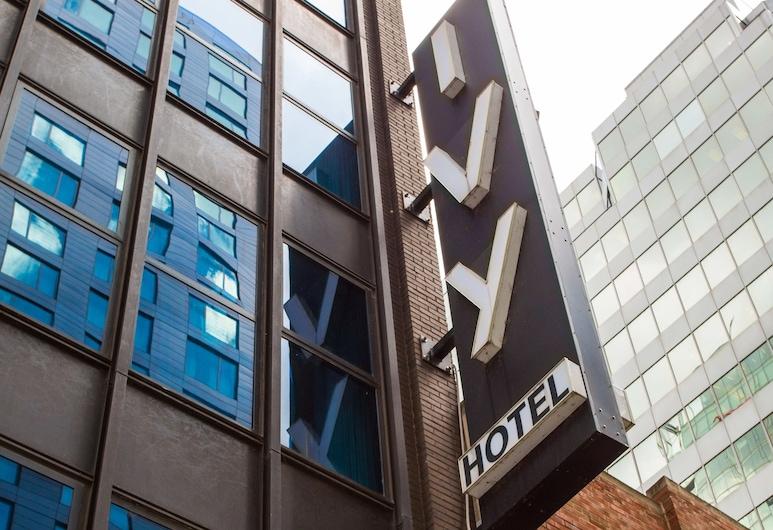 Ivy Boutique Hotel, Chicago, Voorkant hotel
