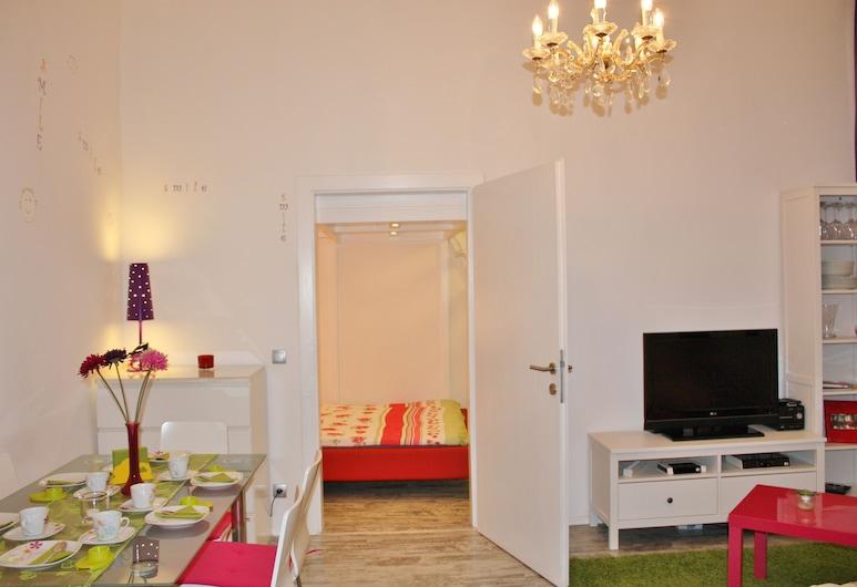 GoVienna Belvedere Apartment, Viena, Standartinio tipo apartamentai, 1 miegamasis, virtuvė, Svetainės zona