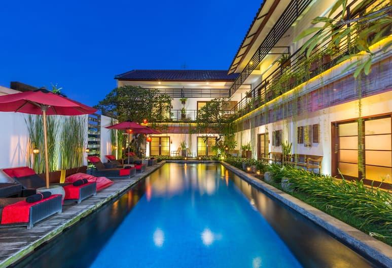 Kamar Kamar Rumah Tamu - Boutique Hotel, Seminyak, בריכה חיצונית