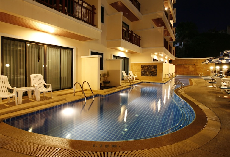 Jiraporn Hill Resort, Patong, Buitenzwembad