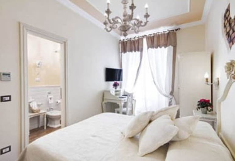Lunaria Suites Rome - Luxury In St. Peter, Rome, Chambre Triple Luxe, vue ville, Chambre