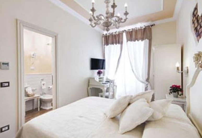 Lunaria Suites Rome - Luxury In St. Peter, Rom, Luksus-værelse til 3 personer - byudsigt, Værelse