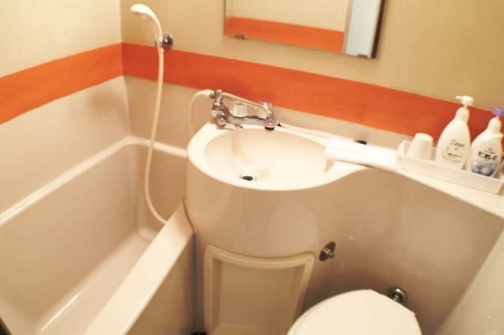Pokoj se dvěma jednolůžky, 2 jednolůžka, nekuřácký - Koupelna