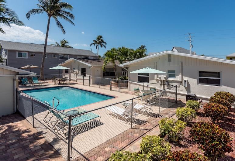 Gulf Breeze Condos, Pantai Fort Myers, Kolam Renang Luar Ruangan