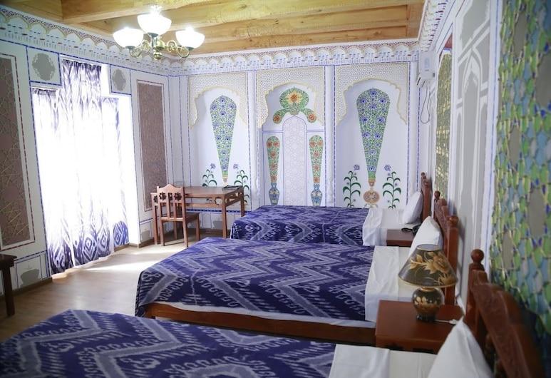 Komil Bukhara Boutique Hotel, Bukhara, Standard Triple Room, Guest Room