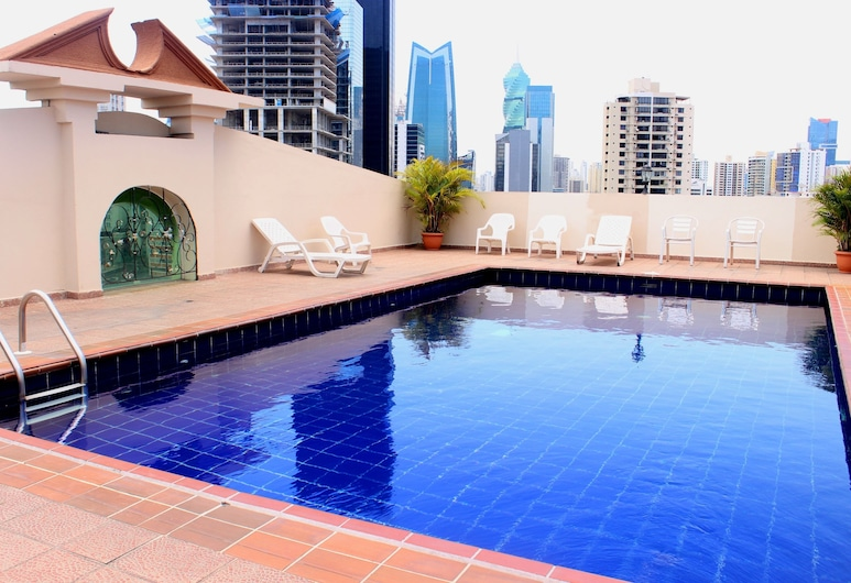 Hotel Terranova, Panama City, Rooftop Pool