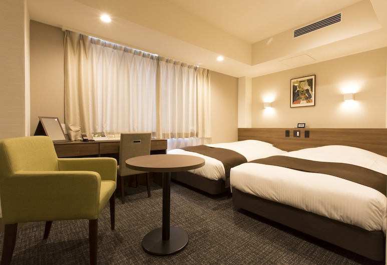 Osaka River-Side Hotel, Osaka, Superior Twin Room, 2 Bedrooms, Non Smoking, Guest Room