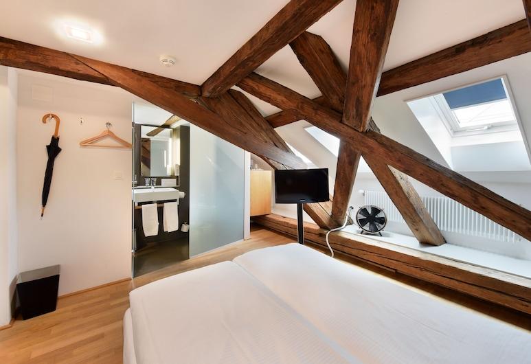 Altstadt Hotel Le Stelle Luzern, Lucerna, Habitación individual (''Hirschenplatz'' View), Habitación