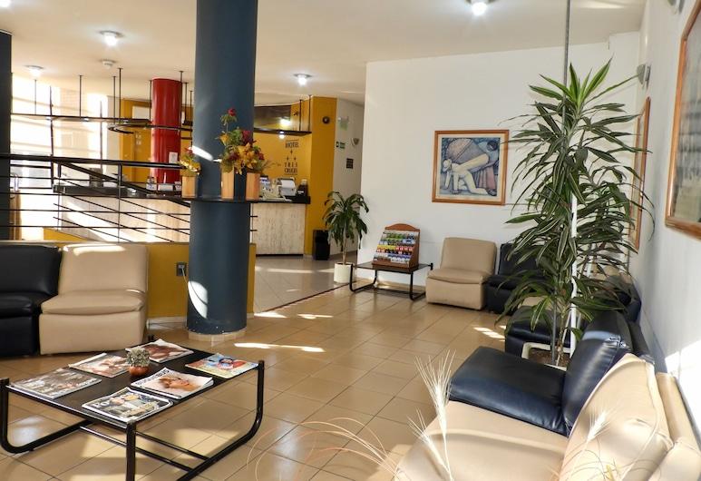 Hotel Tres Cruces, Montevideo, Khu phòng khách tại tiền sảnh