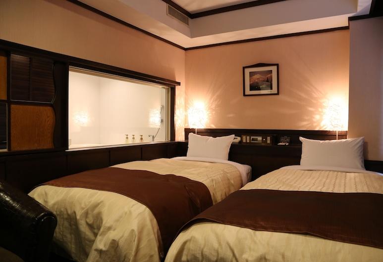 Hotel New Station, Matsumoto, Design İki Ayrı Yataklı Oda, 2 Tek Kişilik Yatak, Sigara İçilmez, Oda