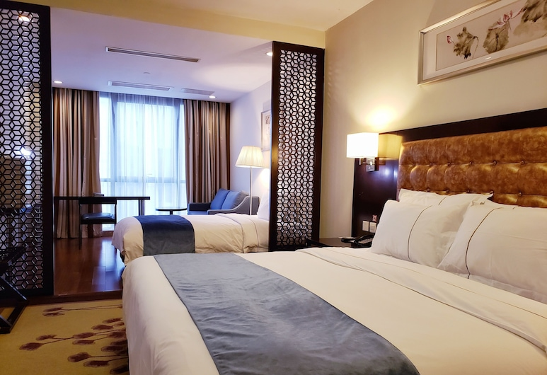 Benjoy Hotel - Jinqiao Branch, Shanghai, Business Twin Room, Guest Room